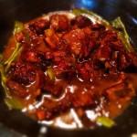 干大根と羊スペアリブの鍋