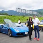 フェラーリは女性も運転しやすい!! 富士スピードウェイ走行体験