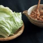 おこもりレシピ(今晩のおかずのもう一品に)_春キャベツ前菜篇