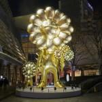 【東京アートパトロール】六本木ヒルズに黄金に輝くパワースポット登場!