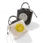 【Fashion】使うたび楽しい気分に。スマイルマークのバッグが登場!