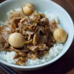 【レシピ】いつもの料理を10分で ⑫魯肉飯(ルーローハン)