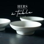 新会員サービス「HERS à table 」のお知らせ