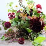 【LIFE STYLE】パリ近郊 花とともに暮らす(51) 秋色のウエディング